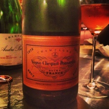 1978 Veuve Clicquot Ponsardin brut rosé