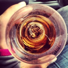 cognac on a sailboat
