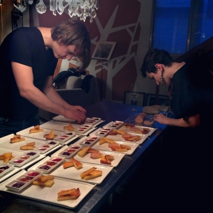Dan and Jeanne plating PB+J